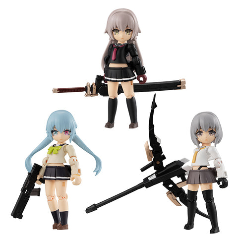 PRE-ORDER Desktop Army - Heavily Armed High School Girls 1st Squad [Set of 3]