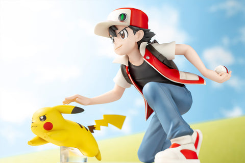 Pokémon Center Original Figure - Red & Pikachu 1/8 [EXCLUSIVE]