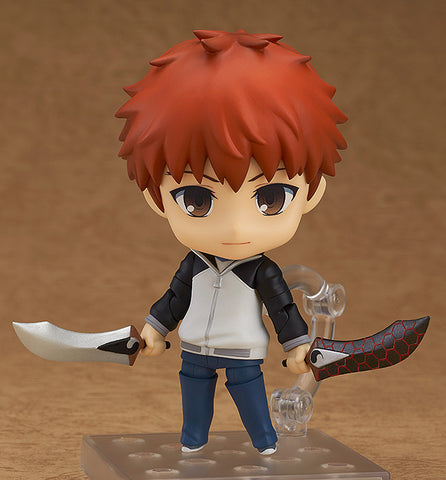 Nendoroid 555 - Fate/stay night [Unlimited Blade Works] - Shirou Emiya (2nd Release)