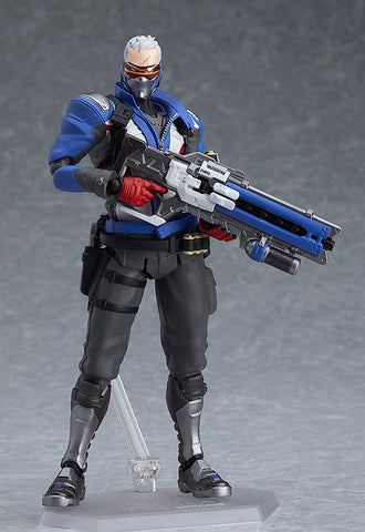 PRE-ORDER figma 475 - Overwatch - Soldier: 76 [EXCLUSIVE]