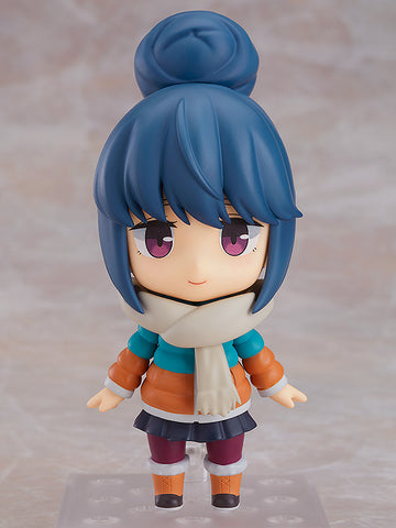 PRE-ORDER Nendoroid 981 - Laid-Back Camp - Rin Shima [2nd Release]