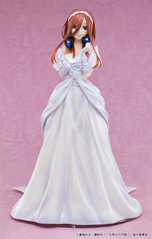 PRE-ORDER The Quintessential Quintuplets - Miku Nakano: Wedding Ver. 1/7 [EXCLUSIVE]