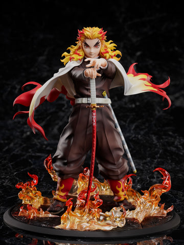 PRE-ORDER Demon Slayer: Kimetsu no Yaiba The Movie: Mugen Train - Kyojuro Rengoku 1/8