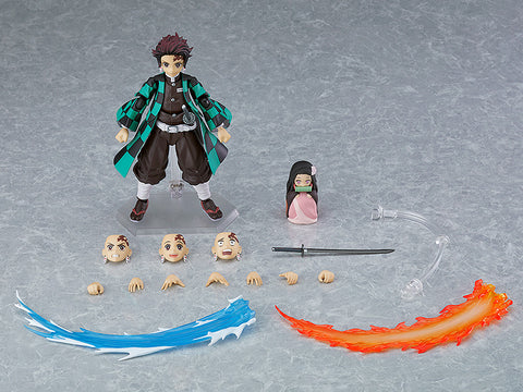 PRE-ORDER figma 498-DX - Demon Slayer: Kimetsu no Yaiba - Tanjiro Kamado DX Edition