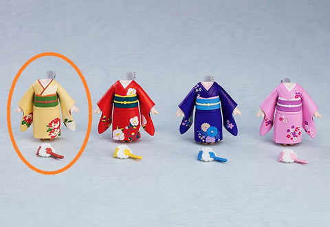 PRE-ORDER Nendoroid More - Dress Up Coming of Age Ceremony Furisode: Yellow