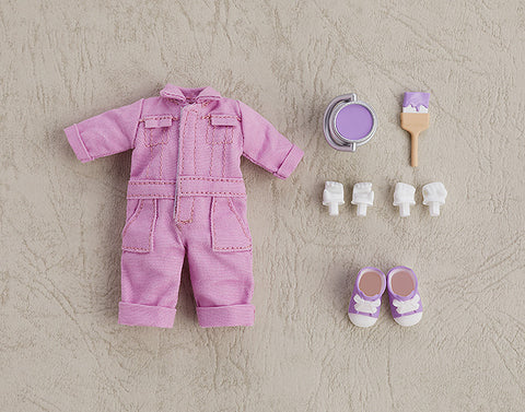 PRE-ORDER Nendoroid Doll: Outfit Set (Colorful Coveralls - Purple)