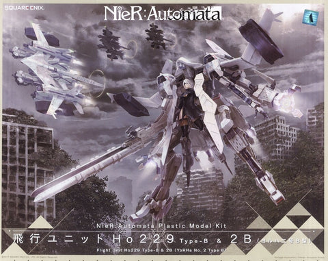 NieR:Automata Plastic Model Kit Flight Unit Ho229 Type-B & 2B (YoRHa No.2 Type B)