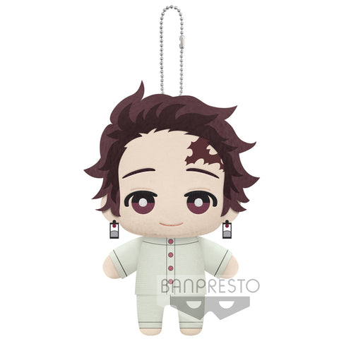 PRE-ORDER Demon Slayer: Kimetsu no Yaiba Mascot Plush: The Butterfly Mansion Ver. - A: Tanjiro Kamado