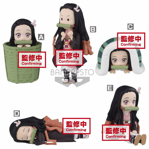 PRE-ORDER Demon Slayer: Kimetsu no Yaiba World Collectable Figure - Nezuko Kamado Collection II [Set of 5]