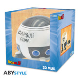 PRE-ORDER DRAGON BALL - Mug 3D - Capsule Corp spaceship