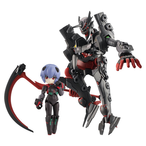 PRE-ORDER Desktop Army - Rebuild of Evangelion - Rei Ayanami (Tentative Name) & Adams Unit-01 (Mid-Transition Form) Seele Spec. [EXCLUSIVE]