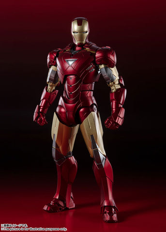PRE-ORDER S.H.Figuarts - AVENGERS - IRON MAN MARK 6 : BATTLE DAMAGE EDITION