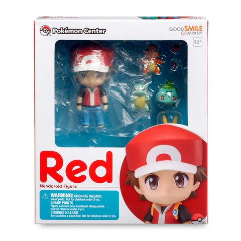 BACK-ORDER Nendoroid 425 - Pocket Monsters - Red [US] [Pokemon Center EXCLUSIVE]