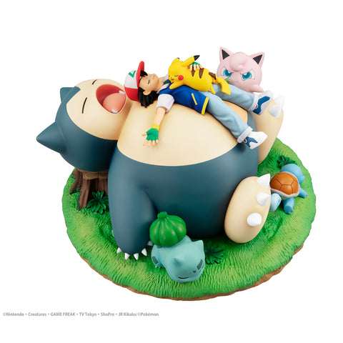 PRE-ORDER G.E.M. Series - Pokemon Nap with Snorlax