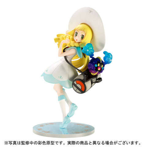 Pokemon Center Original Figure - Pokemon Sun & Moon - Lillie & Cosmog 1/8 [EXCLUSIVE]