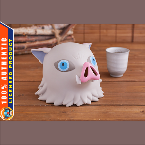 PRE-ORDER Demon Slayer: Kimetsu no Yaiba - Inosuke Hashibira Head Mascot Piggy Bank [EXCLUSIVE] [PH1]