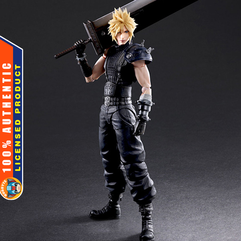 PRE-ORDER Play Arts Kai - Final Fantasy VII Remake - Cloud Strife: Ver. 2