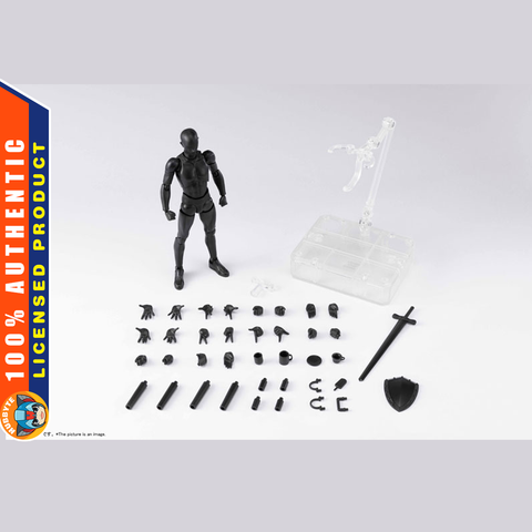 PRE-ORDER S.H. Figuarts - Body-kun DX SET 2: Solid Black Color Ver.