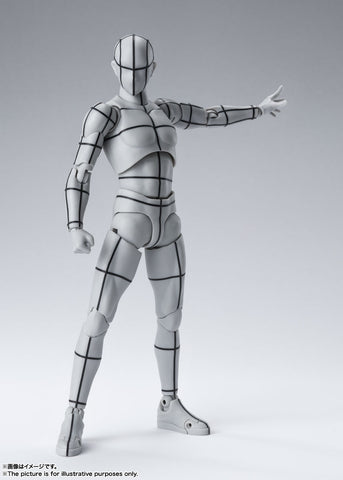 PRE-ORDER S.H.Figuarts - BODY KUN: WIREFRAME Gray Color Ver.