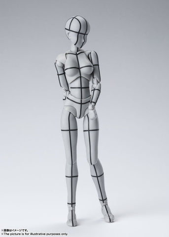 PRE-ORDER S.H.Figuarts - BODY CHAN: WIREFRAME Gray Color Ver.