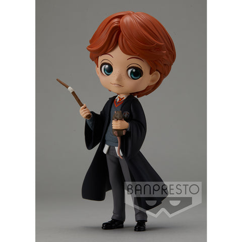 PRE-ORDER Harry Potter Q Posket - Ron Weasley with Scabbers [EXCLUSIVE]
