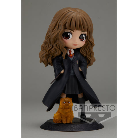 PRE-ORDER Harry Potter Q Posket - Hermione Granger with Crookshanks [EXCLUSIVE]