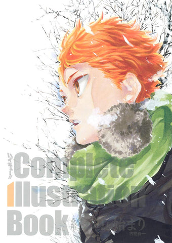 SPECIAL ORDER Haikyu!! Complete Illustration Book: Owari to Hajimari (The End and the Beginning)