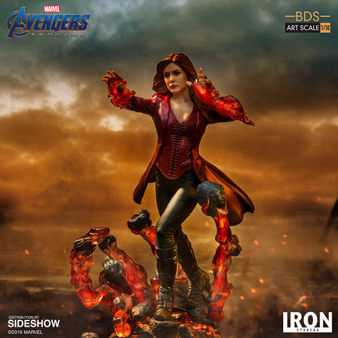 BACK-ORDER - Scarlet Witch BDS Art Scale 1/10 - Avengers Endgame