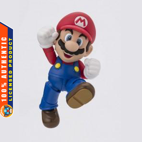 S.H.Figuarts - Super Mario Brothers - Mario (2nd Release)