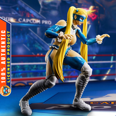 S.H.Figuarts - Street Fighter V - Rainbow Mika [EXCLUSIVE]