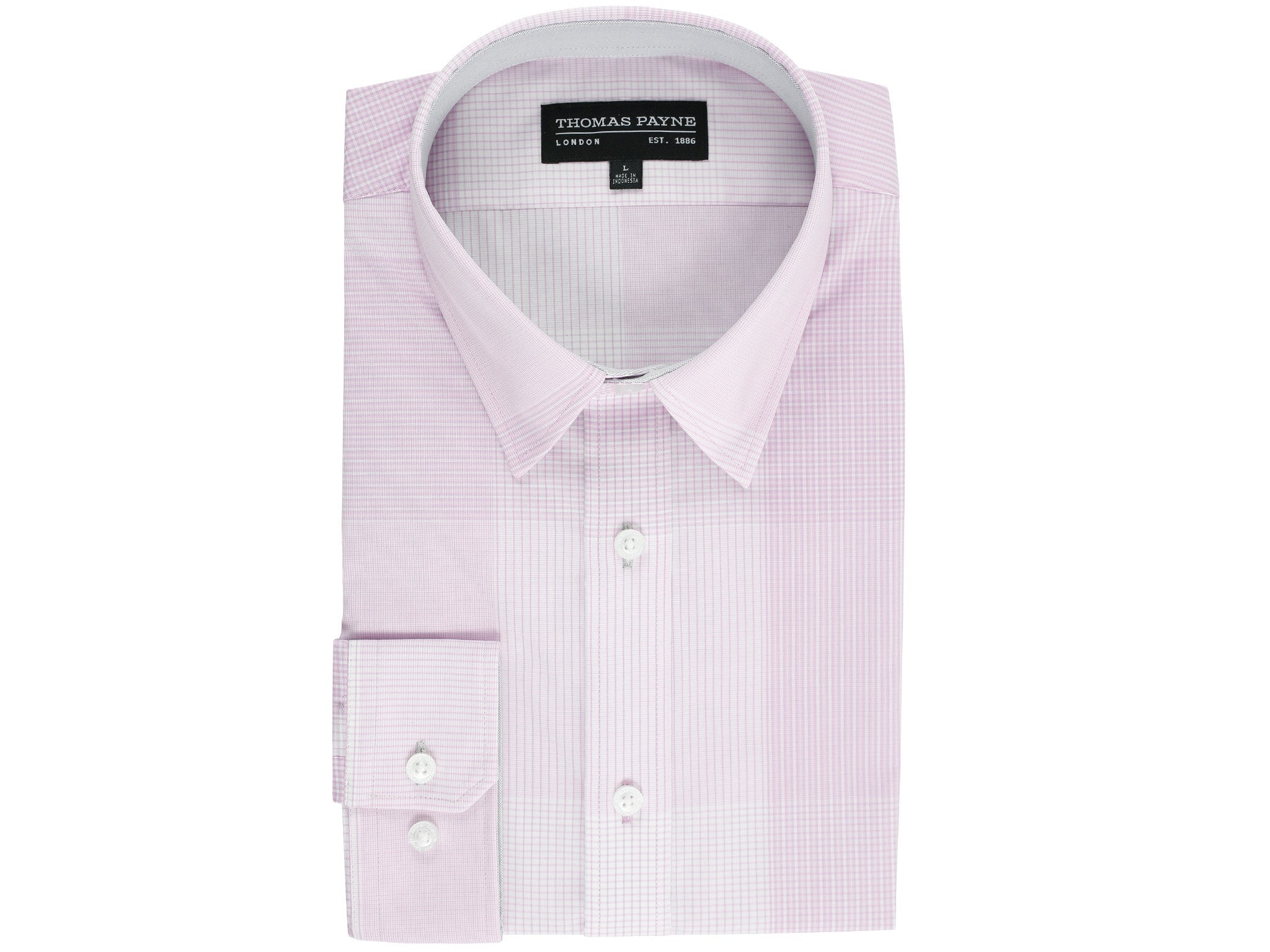 Earl Pink Classic Fit Long Sleeve Shirt