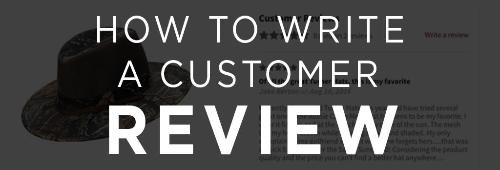 Five Easy Steps to Write a Customer Review