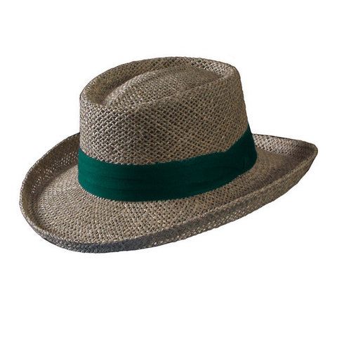 Turner Hat presents the Cabana (Natural Golf Hat) Brown