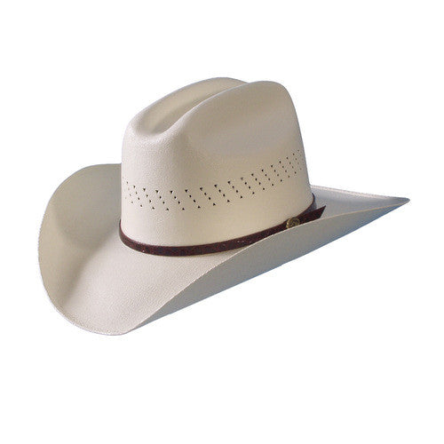 How to break in a straw cowboy hat