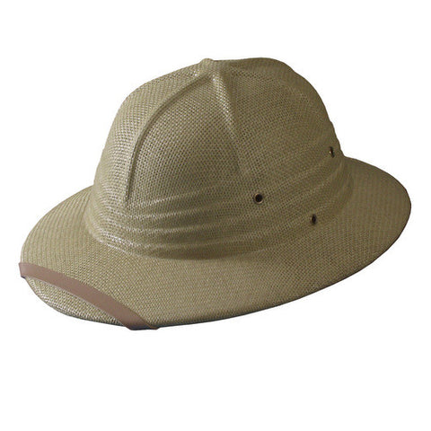 Turner Hat presents the Linen Helmet Khaki