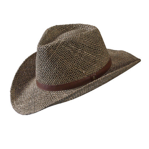 Turner Hat presents the Seagrass Western Khaki