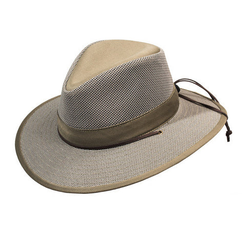 Turner Hat presents the Aussie Olive Mesh Flex Olive