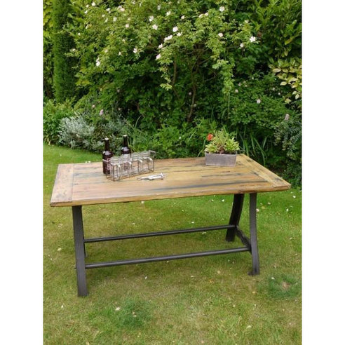 Industrial cast iron table - Foundry