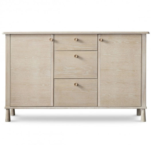 Wycombe Oak Sideboard with 2 Doors (139.8 x 47.5 x 85cm)