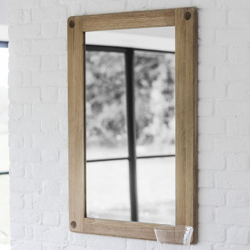 Wycombe Oak Wall Mirror (70 x 100cm)