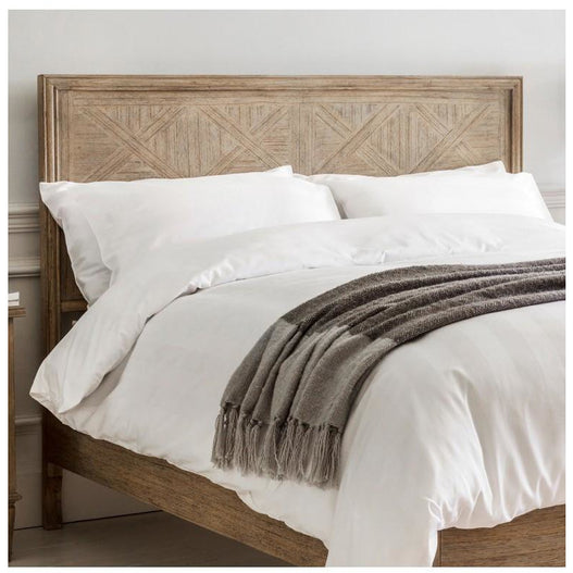 Mustique Mindy Wood Superking Bed Headboard (6')