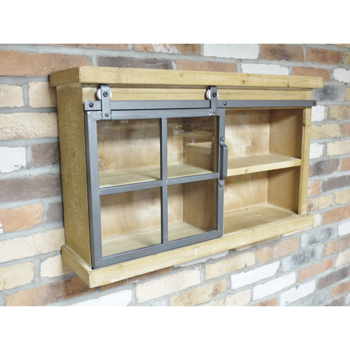 Dalston Industrial Warehouse Wall Unit (80 x 21 x 49cm)