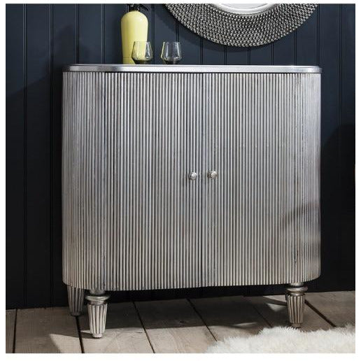 Jeeves silver drinks cabinet sideboard