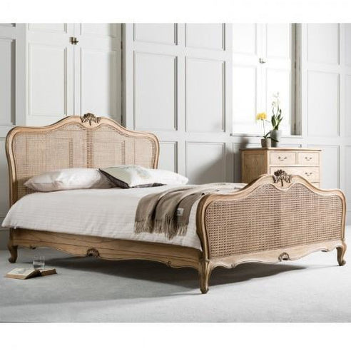 Chic Chalk Weathered French Kingsize Bed