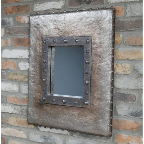 Hoxton Industrial Wall Mirror ( 57 x 5 x 70 )