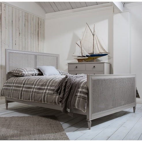 Annecy French Grey kingsize Bed