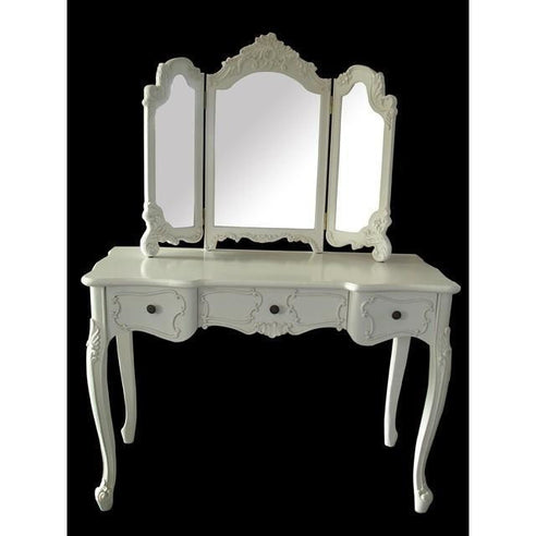 Eastenders Dressing Table and Mirror Set