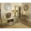 Athena Champagne Silver Mirrored Large TV Media Unit (180 x 50 x 60cm)