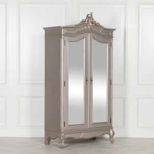 FRENCH BEDROOM FURNITURE - Vintage silver gilt | Scoutabout ...