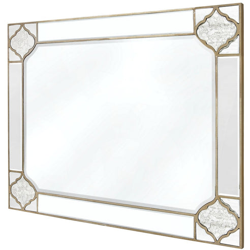 Casablanca Antique Venetian Large Wall Mirror (120 x 2 x 90cm)